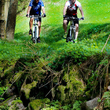 "Mountainbikestrecke ""Tips-Runde"""
